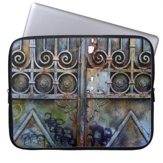 Capa De Notebook Luva grega do laptop da porta
