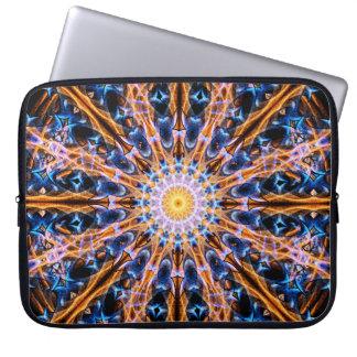 Capa De Notebook Mandala da estrela da alquimia