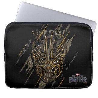 Capa De Notebook Marcas da garra da pantera preta | Erik Killmonger
