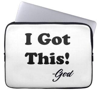 Capa De Notebook Mensagem do deus