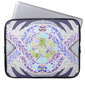 Capa De Notebook Nascimento da vida, idade nova, meditação, boho,