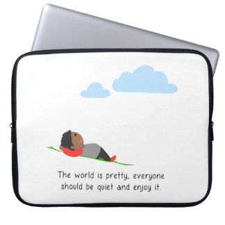 Capa De Notebook O mundo é bonito