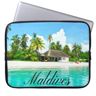 Capa De Notebook Paisagem bonita de Maldives