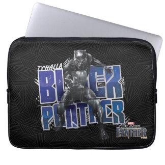 Capa De Notebook Pantera preta   T'Challa - gráfico da pantera