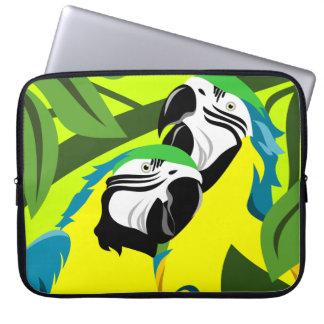 Capa De Notebook Papagaio do Macaw