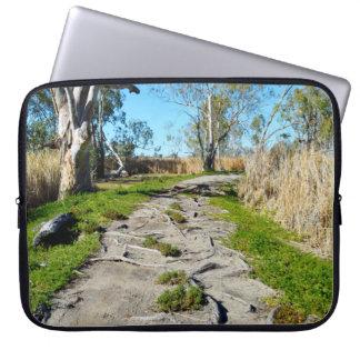 Capa De Notebook Passeio das mães Natureza, Riverland Austrália,