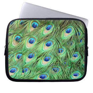 Capa De Notebook Pena do pavão