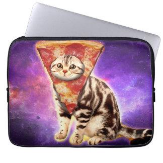 Capa De Notebook Pizza do gato - espaço do gato - memes do gato