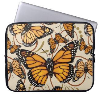 Capa De Notebook Redemoinhos da borboleta de monarca