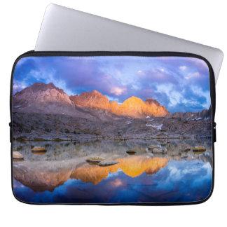 Capa De Notebook Reflexão da montanha, Califórnia