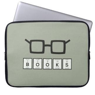 Capa De Notebook Registra os vidros Zh6zg do nerd do elemento