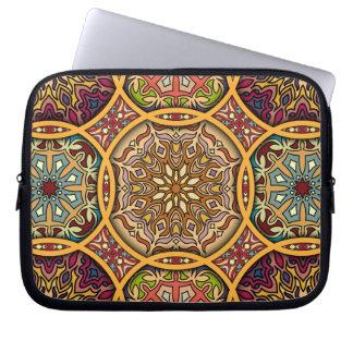 Capa De Notebook Retalhos do vintage com elementos florais da