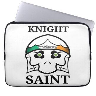 Capa De Notebook Santo do cavaleiro do Dia de São Patrício de
