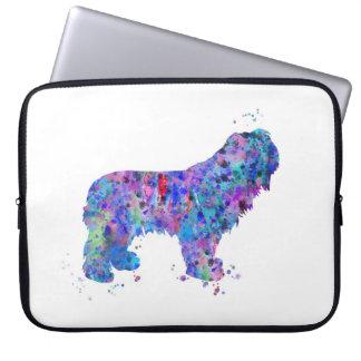 Capa De Notebook Sheepdog polonês da planície