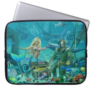 Capa De Notebook Tesouro do recife de corais da sereia
