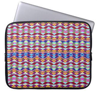 Capa De Notebook Teste padrão colorido étnico
