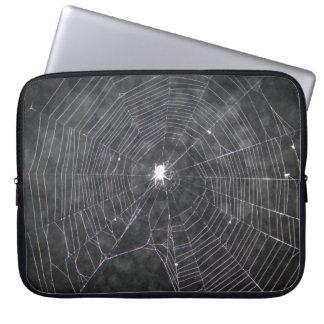 Capa De Notebook Web de aranha na noite