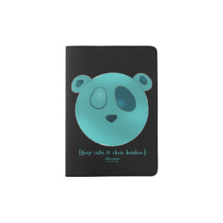 Capa de passaporte Pooch panda the