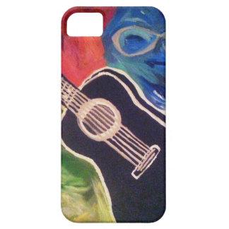 Capa de telefone abstrata da guitarra capa para iPhone 5