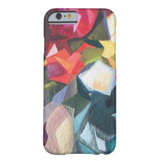 Capa de telefone abstrata floral brilhante