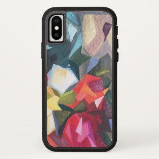 Capa de telefone abstrata floral brilhante 2