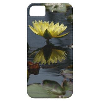Capa de telefone amarela de Waterlily