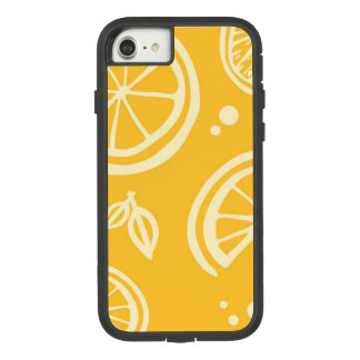 Capa de telefone amarela do citrino
