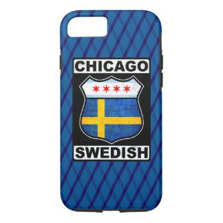 Capa de telefone americana sueco de Chicago