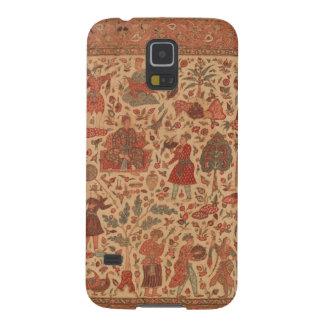 Capa de telefone antiga de matéria têxtil de India