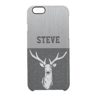 Capa de telefone áspera da caça dos cervos do nome