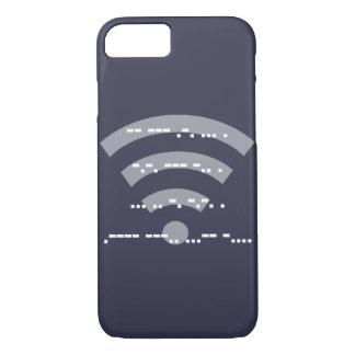 Capa de telefone azul da meia-noite do design do
