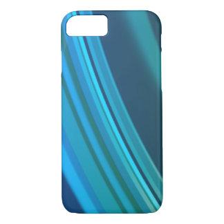Capa de telefone azul das ondinhas