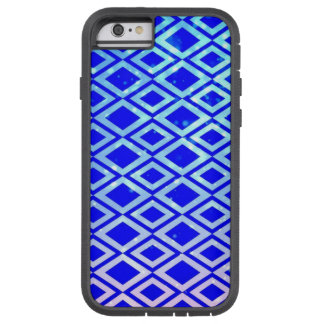 Capa de telefone (azul) do iPhone 6/6s do design