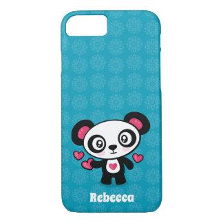 Capa de telefone bonito da panda