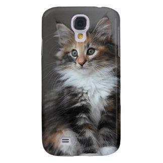 Capa de telefone bonito do gato capa samsung galaxy s4