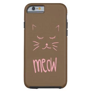 Capa de telefone bonito do gato do MEOW para todas