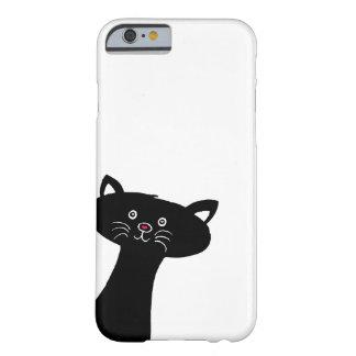 Capa de telefone bonito do gato preto