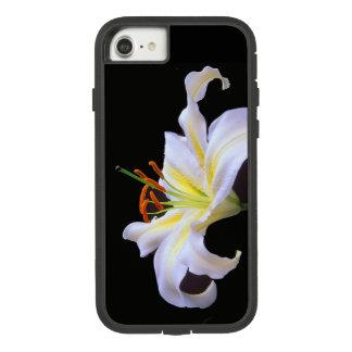 Capa de telefone branca do iPhone de Lilys Apple