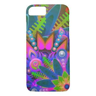 Capa de telefone colorida da floresta