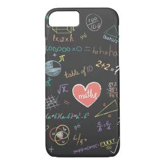 Capa de telefone colorida da fórmula da matemática