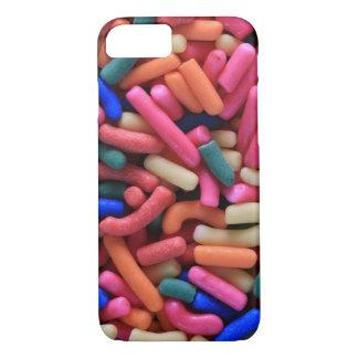 Capa de telefone colorida dos doces