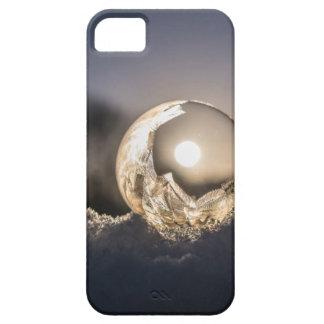 Capa de telefone congelada do móbil da bolha