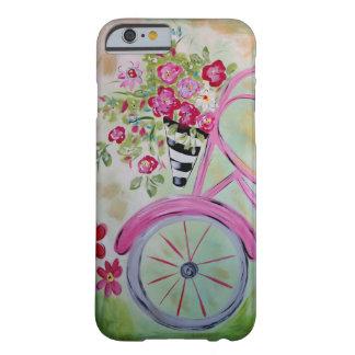 Capa de telefone cor-de-rosa da bicicleta capa barely there para iPhone 6