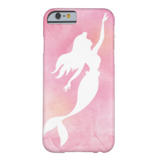 Capa de telefone cor-de-rosa da silhueta da
