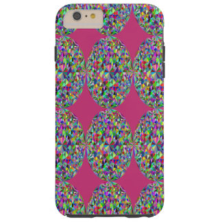 Capa de telefone cor-de-rosa de prisma