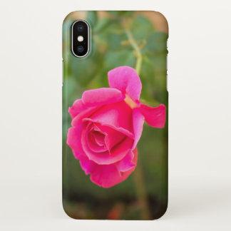 Capa de telefone cor-de-rosa do teste padrão