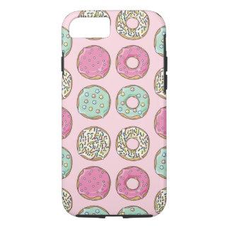 Capa de telefone cor-de-rosa e da hortelã da