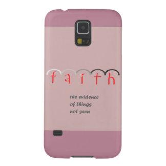 """Capa de telefone cor-de-rosa feminino da """"fé"""" -"""