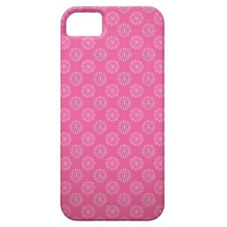 Capa de telefone cor-de-rosa infinita do vintage capa barely there para iPhone 5