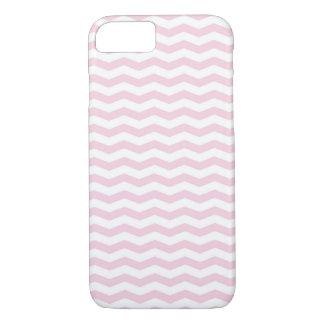 Capa de telefone cor-de-rosa na moda de Chevron